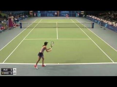 Kulichkova Elizaveta v Dodin Oceane - 2016 ITF Poitiers