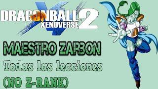 『Xenoverse 2』Mentor Zarbon | Todas sus lecciones