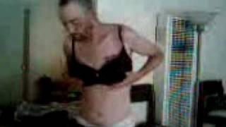 Dancing with my bra!!!  Woke up drunk!