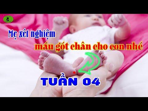 Em Bé Sơ Sinh- TUẦN 04: Mẹ Đã Xét Nghiệm Máu Gót Chân Cho Con Chưa?  Lynn Vo Pregnancy