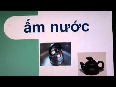 Vietnamese for baby: giúp bé học tiếng Việt-Bài 2: Đồ vật trong nhà