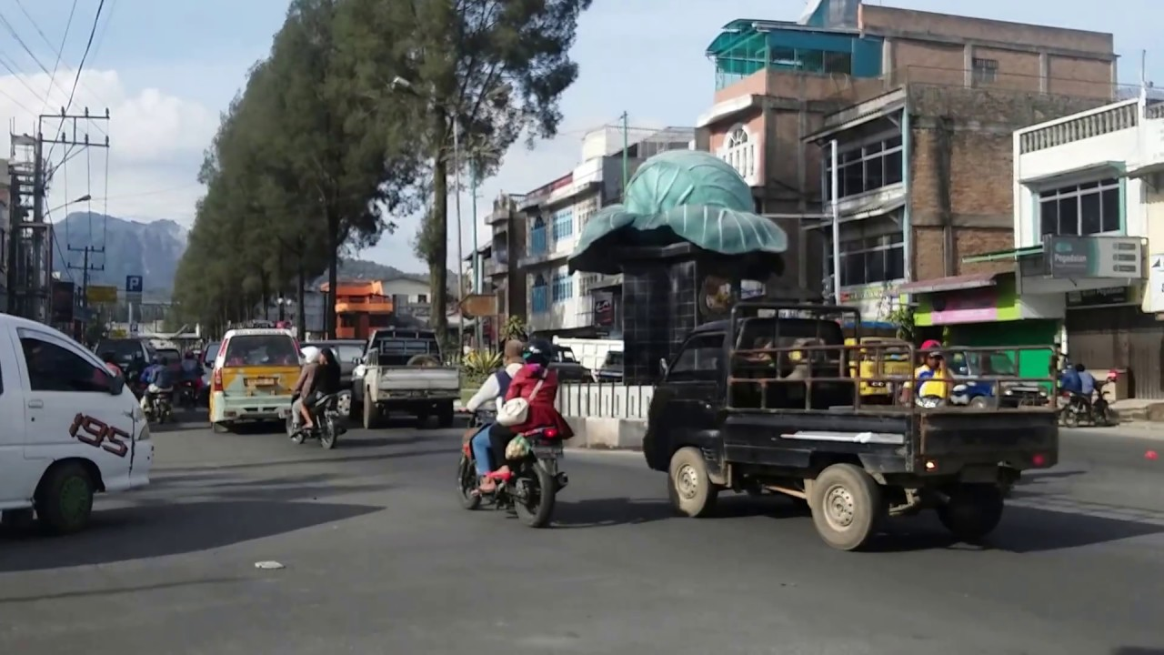 Pusat Kota Berastagi Tanah Karo Simalem Sumatera Utara Youtube