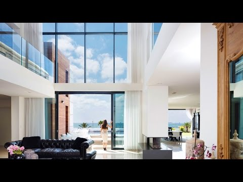 Seafront Spacious Modern Contemporary Luxury Residence in Ashdod, Israel (by Nava Yavetz Architects)