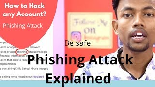 Phishing Attack Explained : Be Safe
