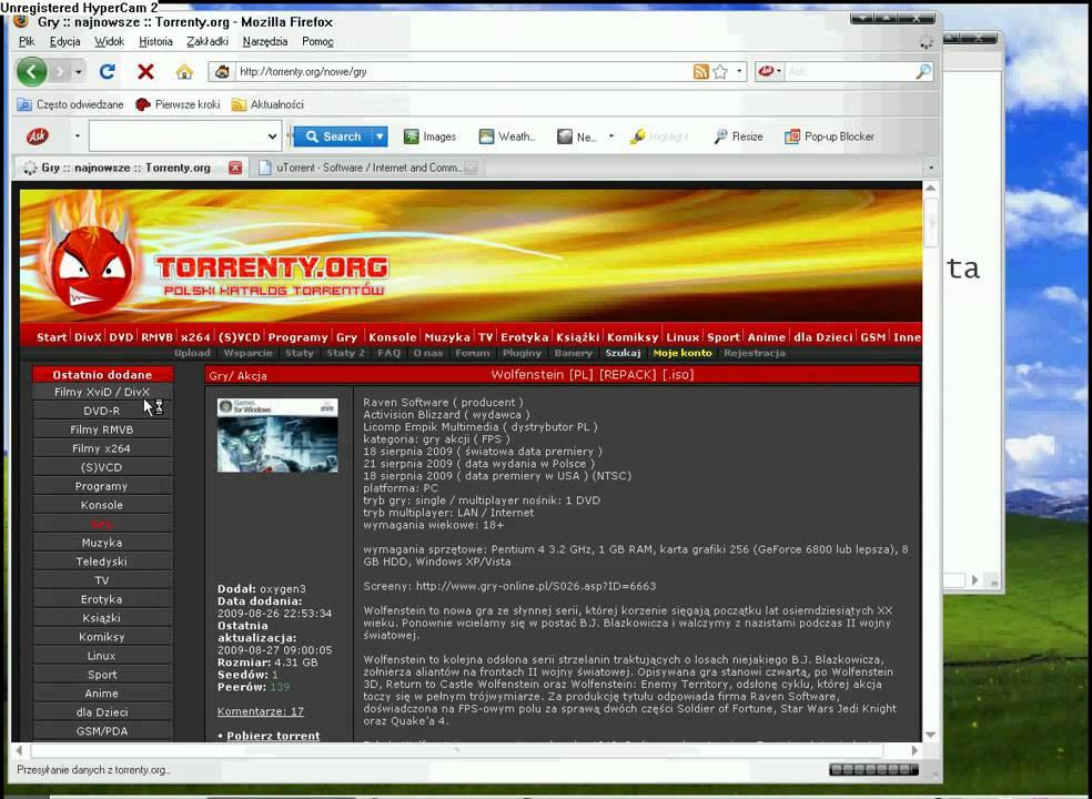 darmowa strona z torrentami bez rejestracji