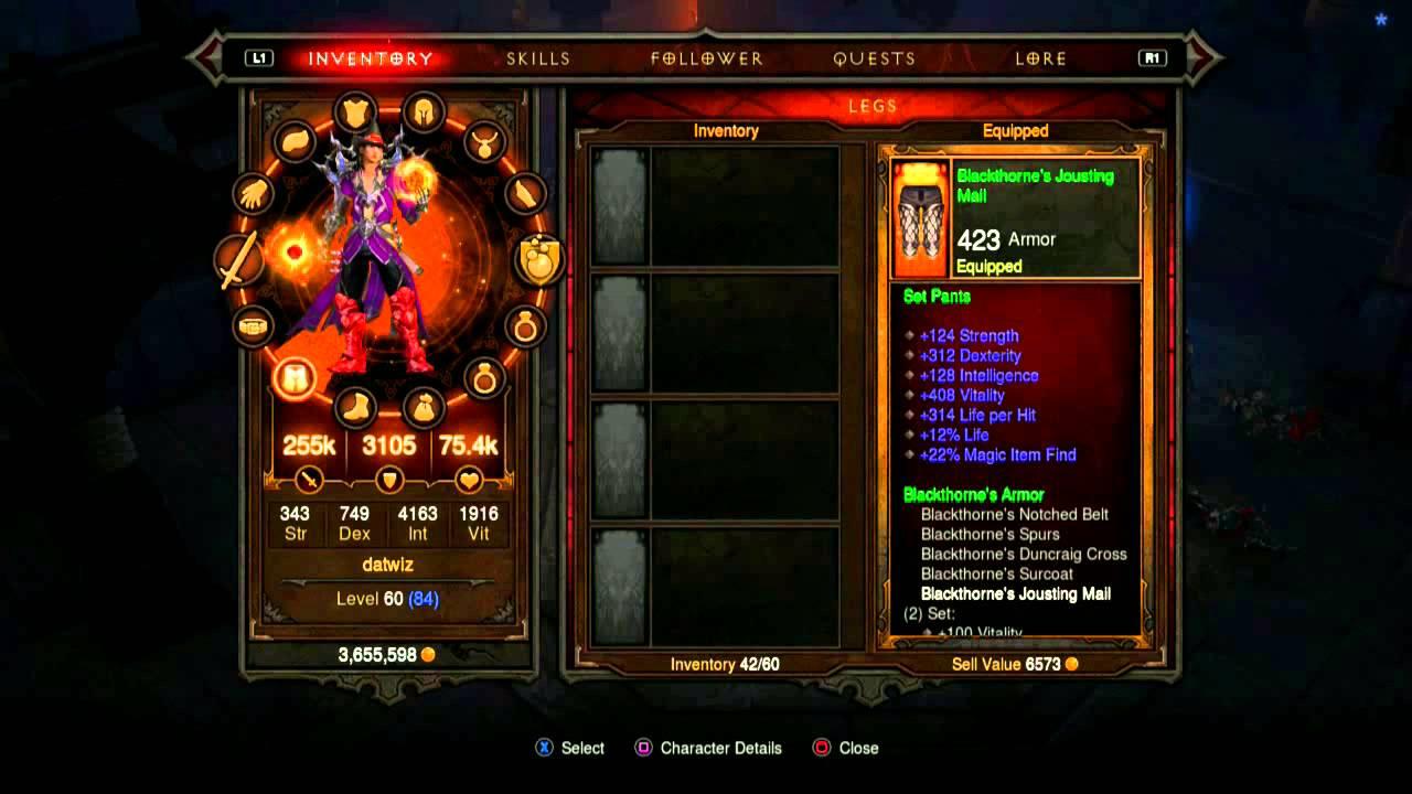 Diablo III : Critical Mass (CM) Wizard Gameplay and Gear ...