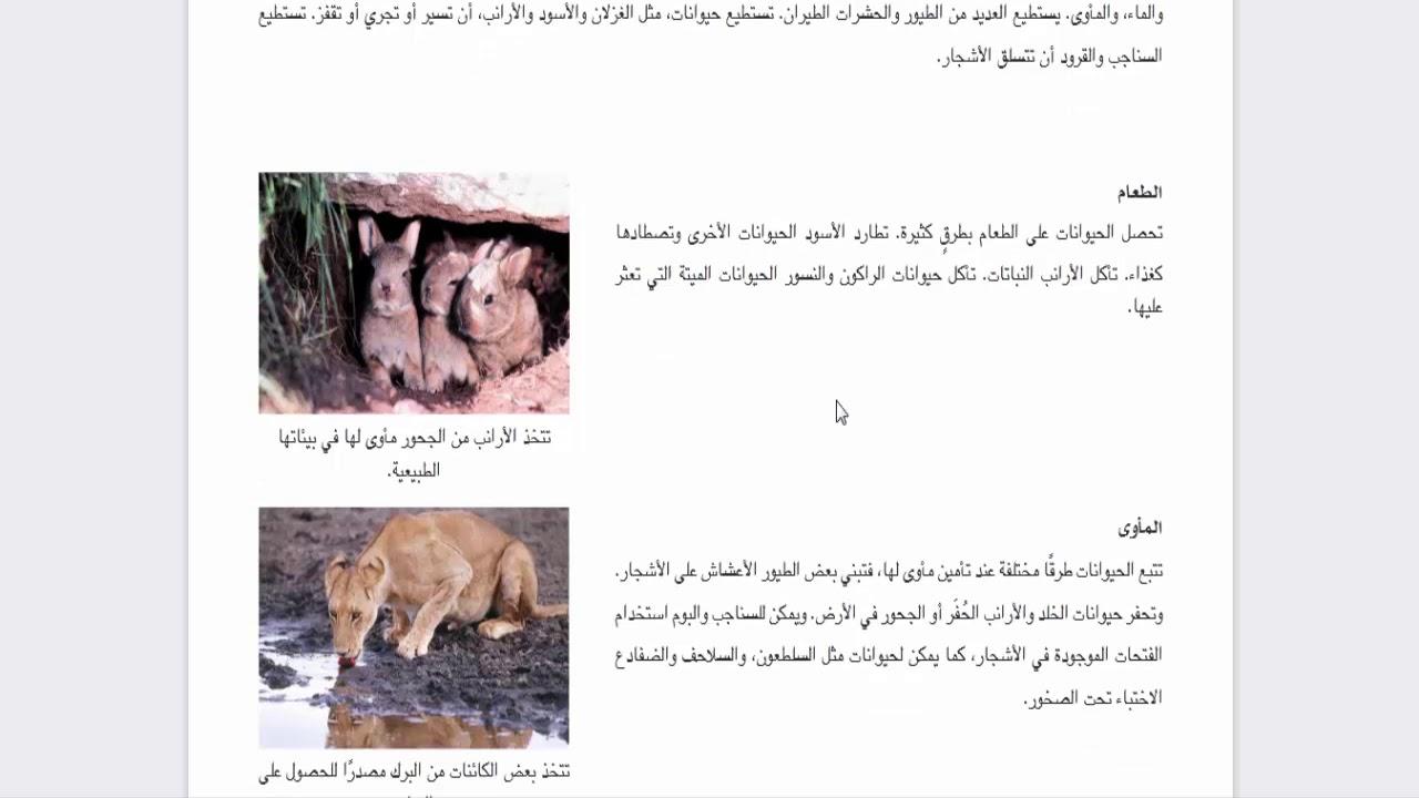 الدرس 5 الفصل الاول اثار التغيرات البيئة كتاب اكتشف  وديسكفر للصف الثالث الابتدائى ترم اول