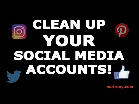 Looking for a Job? Clean up Your Social Media Accounts