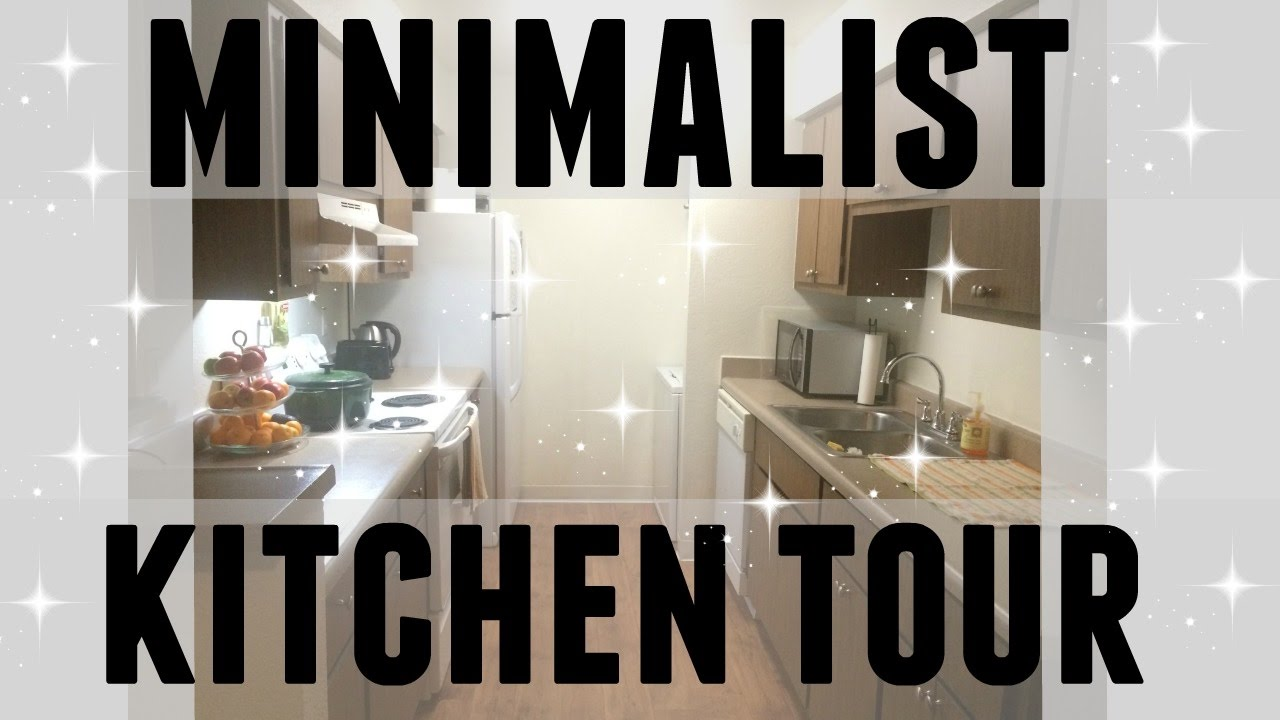 Minimalist Family Apartment Kitchen Tour Simple Living Small