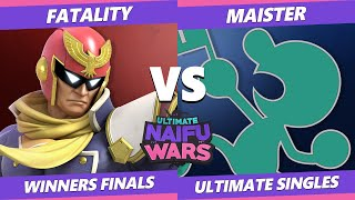 Naifu Wars 12 Winners Finals - SSG | Maister (Game & Watch) Vs. Fatality (Captain Falcon) SSBU