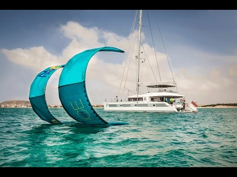 Lagoon 620 - Ocean View: Luxury kitesurfing catamaran - Caribbean, Mediterranean & Pacific