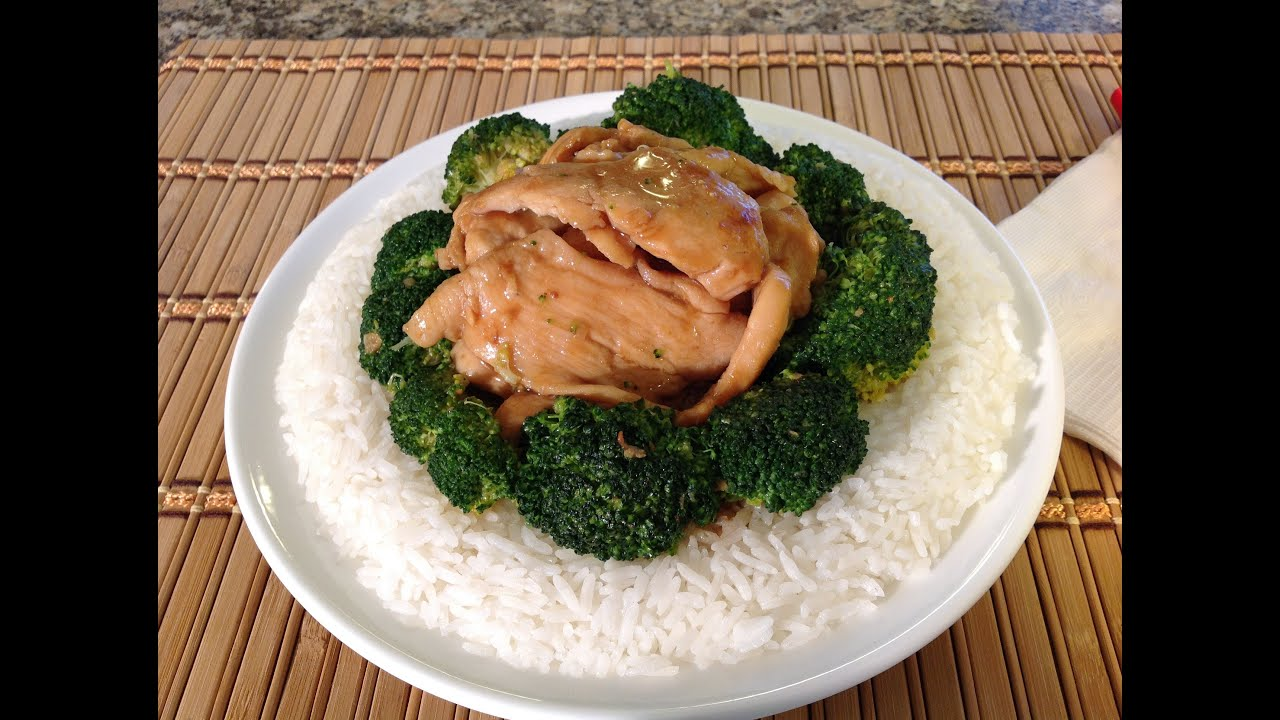 How to cook chinese chicken broccoli asian food recipes youtube forumfinder Image collections