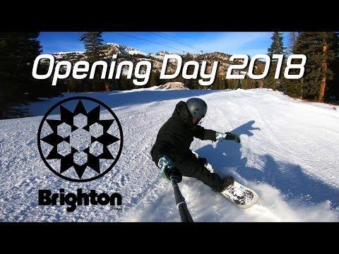 Brighton Resort Opening Day 2018 2019 Season !!