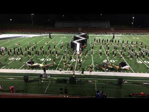 First full stadium runthrough bluecoats 2017