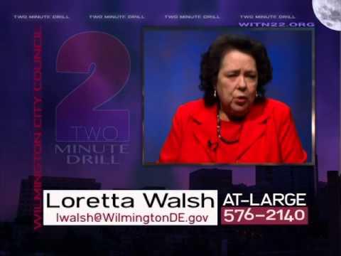 Two Minute Drill  Loretta Walsh  February 20, 2014
