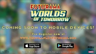 Futurama: Worlds of Tomorrow Teaser Trailer