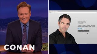 Introducing The Jordan Schlansky Generator  - CONAN on TBS