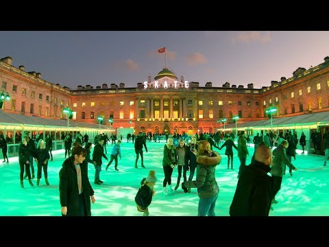 Christmas Walking London ✨ Trafalgar Square Market To Somerset House Ice-Skating Incl. Fortnum's