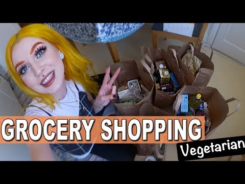 FOOD HAUL - Buying Vegetarian Groceries in SWEDEN