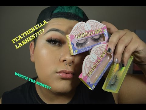 9c0bd0e58d5 FEATHERELLA LASHES REVIEW - YouTube