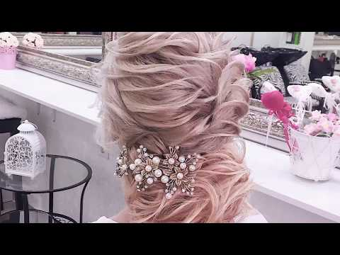 Текстурная причёска из коротких волос. Анна Саядян Видеоурок. HAIRVIDEO