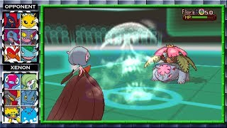 Pokemon Capable of Summoning Death! (Pokemon X and Y Wifi Battle) #32 Xenon3120 vs Cole