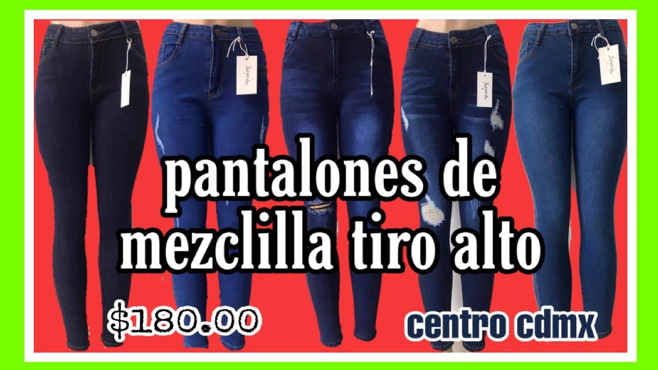 Pantalones De Mezclilla Tiro Alto Baratos Del Centro Pantalones Surprise Ft Eglam Vazquez Youtube