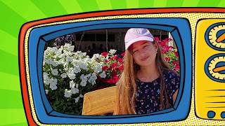 Kids Pretend playing at Miracle Garden Dubai . Funny video 2020