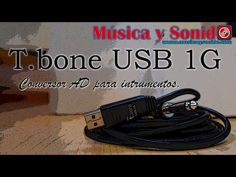 T.Bone USB 1G Conector Jack a USB (o Plug a USB)