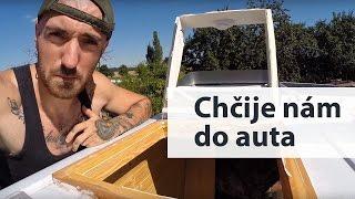 Bydlení na kolech (4) - Jak nám začalo pršet do auta (montáž a přetěsnění oken)