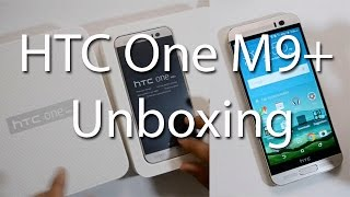 HTC One M9+ (M9 Plus) Gold On Silver Unboxing And Hands On