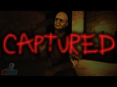 Captured Demo | Indie Horror Game Let's Play | PC Gameplay Walkthrough