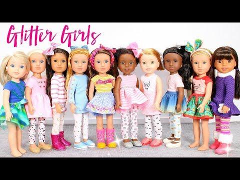 NEW Glitter Girls  Line From Target!