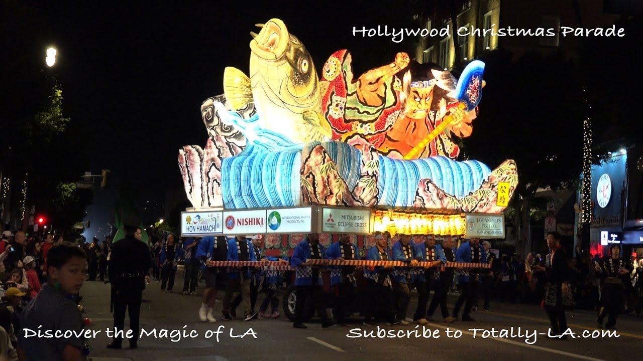 Hollywood Christmas Parade.Hollywood Christmas Parade 2018
