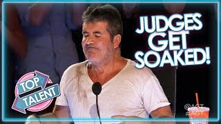 WATER FIGHTS On X Factor, Got Talent and Idols!   Top Talent