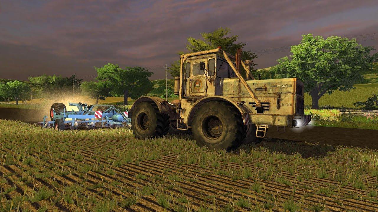 Map Usa Farming Simulator 2013%0A Farming Simulator      Kirovets K    mit Lemken Smaragd       Big Polish Map   YouTube
