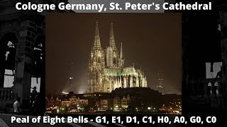 The Bells of Cologne Cathedral, Germany.