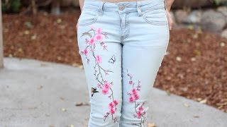 IDEAS FÁCILES PARA RENOVAR TUS JEANS + OUTFITS | Fashion Riot