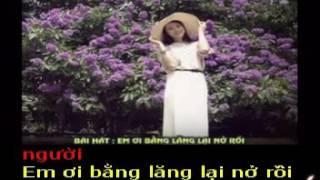 EM ƠI BẰNG LĂNG LẠI NỞ RỒI - Thơ : Đỗ Đăng Cang - Phổ nhạc : HẢI ANH Karaoke