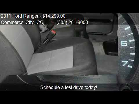 2011 Ford Ranger SUPER CAB for sale in Commerce City, CO 800