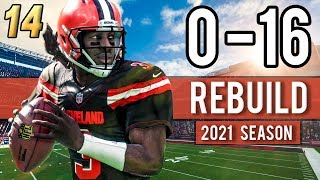 NEW STADIUM DEBUT! BROWNS BACK ON TRACK?! (2021 Season) - Madden 18 Browns 0-16 Rebuild | Ep.14