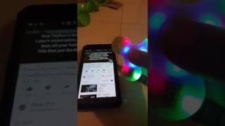 Speaker Fidget Spinner Bluetooth wireless