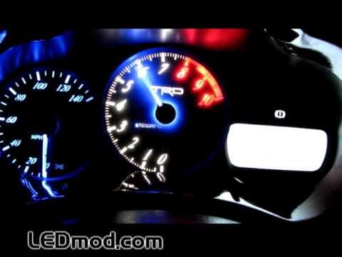 LEDmodcom Color Changing Gauge Face Shift Light  YouTube