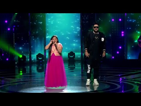 Mere Rashke Qmar || By Sneha Shankar And Baadshah || Fantabulous Performance In Voice India Kids ||