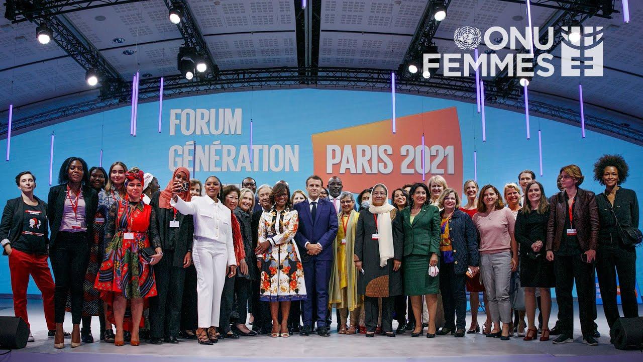 Forum Génération Egalité de Paris | Synthèse de la Cérémonie d-Ouverture  - 23:55-2021 / 9 / 17