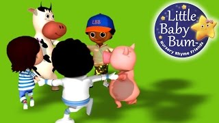 Ring Around The Rosy | Nursery Rhymes | By Littlebabybum! | Abcs And 123s