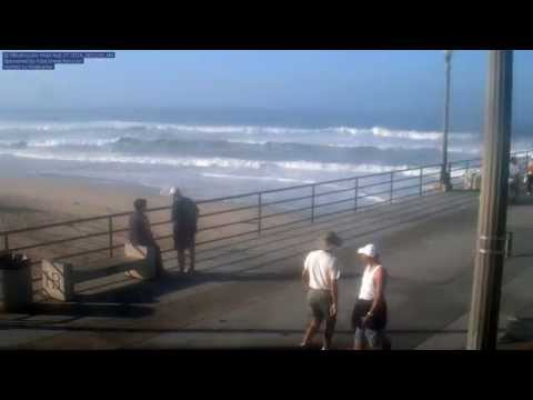 Hurricane Marie's Effect On Huntington Beach
