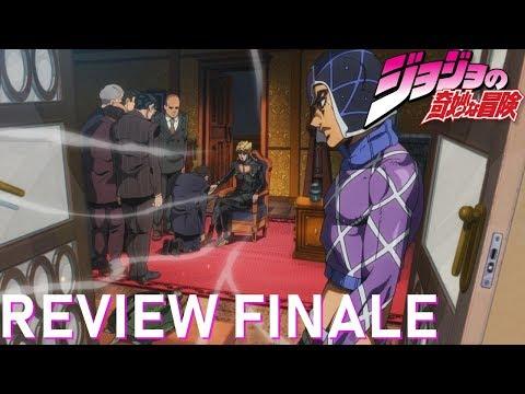 JOJO Golden Wind - LA REVIEW FINALE (#38-39 + Bilan)