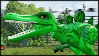 LEGO Jurassic World - BEAST BOY T-REX!