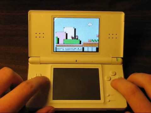 Playing NES Games On The Nintendo DS With NesDS